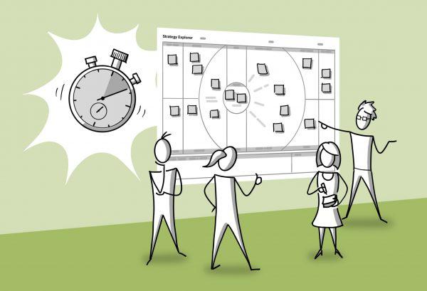 Schnell und agil Strategien entwickeln